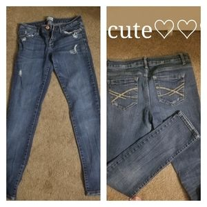 Euc ladies Aeropostle  distressed jeans